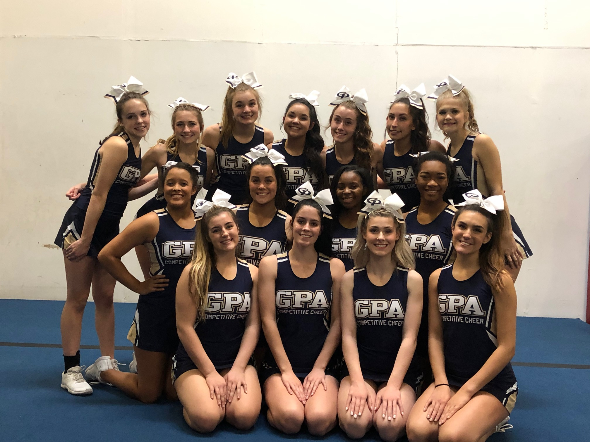 Competition Cheer Squad Takes Third at State