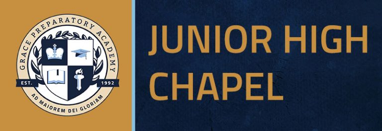 Junior High Chapel
