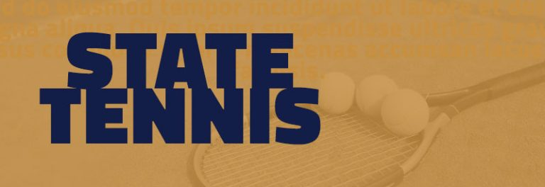 Lions Compete at State Tennis